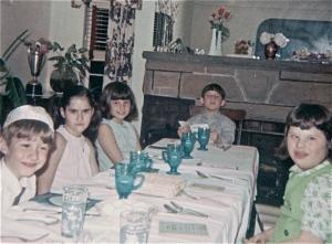 Albert, Nancy, Sheila, Jan, Cathy 1968