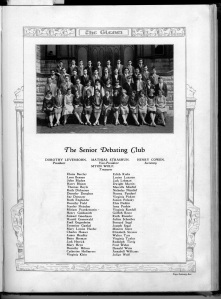 Senior Debating Club