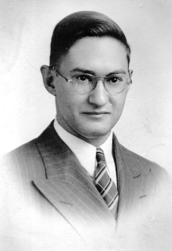 Lewis L young man portrait