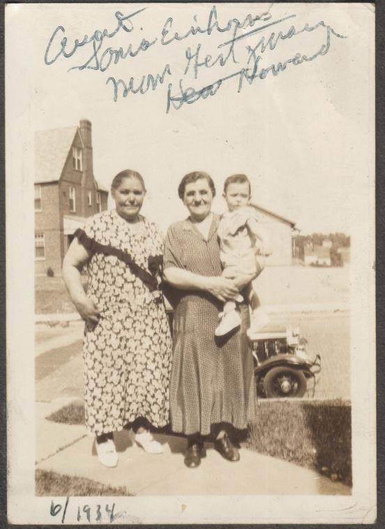 Sonia Einhorn, Sarah Gertzman, Howard Levine - 1934 S McMorris