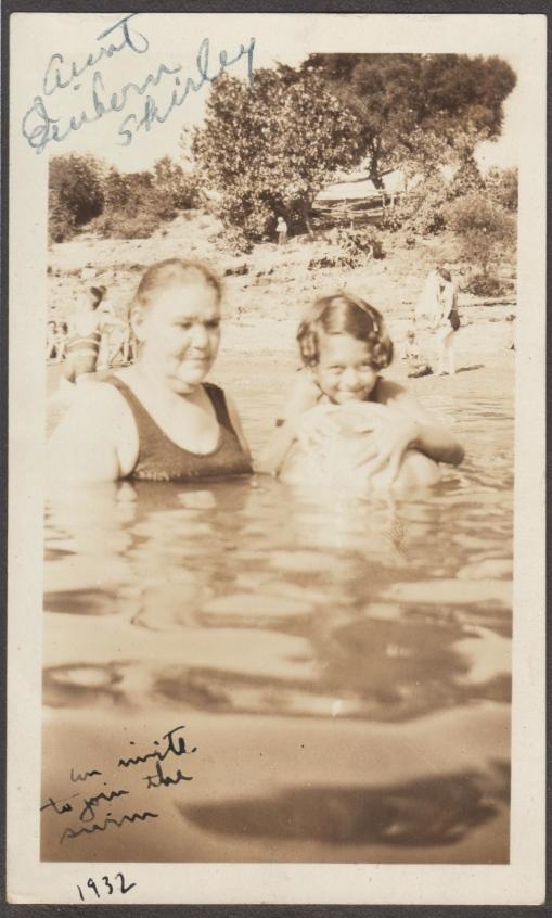 Sonia Einhorn & Shirley Gertzman 1932